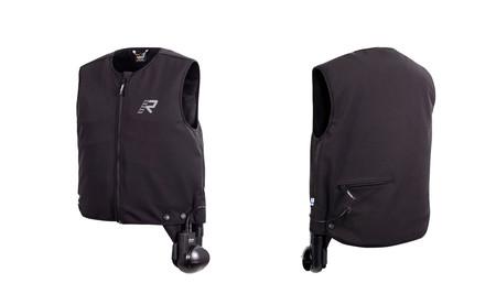 Este chaleco de moto puede enfriar y calentar durante dos horas, y su precio no es para todos los bolsillos