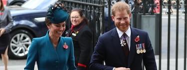 Mientras contamos las horas para que Meghan Markle de a luz, Kate Middleton acompaña al Príncipe Harry a la Abadía de Westminster