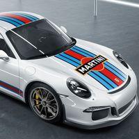 ¡Sublime! Porsche ofrecerá la decoración Martini como accesorio original de los 911