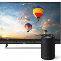 El control vocal con Alexa a través de los altavoces Amazon Echo llega a los televisores de Sony