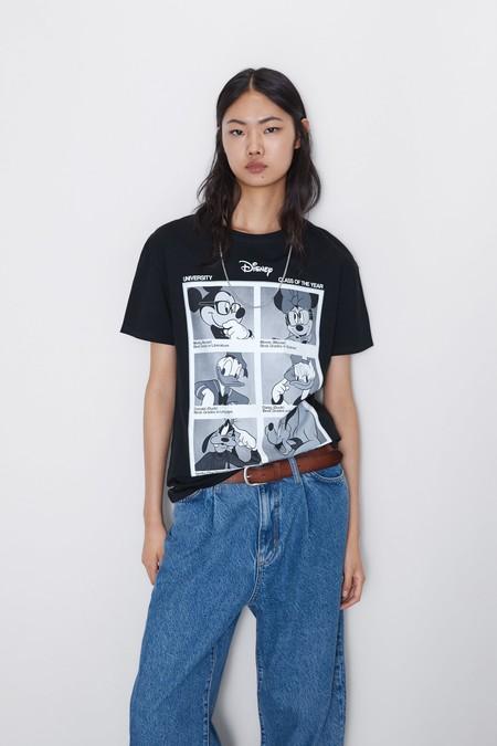 Camiseta Disney Zara 11