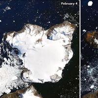 Debido al deshielo, ahora podemos ver una nueva isla en la Antártida