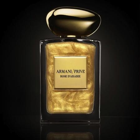 Armani Privé presenta su edición más exclusiva de Rose d'Arabie