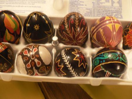 Pysanky, una tradición de huevos de Pascua muy colorida
