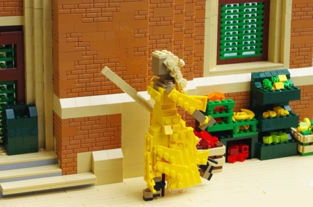 """Beyoncé y su """"Lemonade"""" recreados (al detalle) con piezas de Lego"""