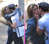 Kellan Lutz y AnnaLynne McCord pillados besándose