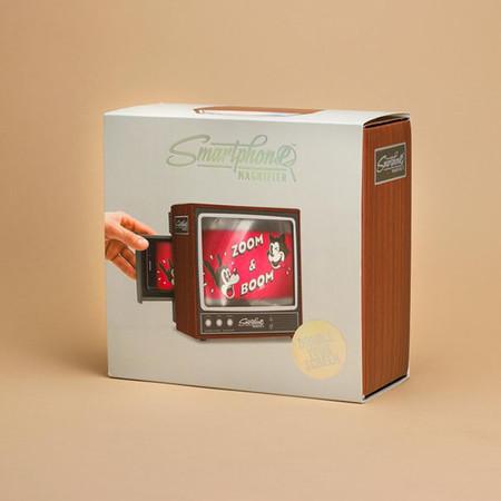 Retro Tv Smartphone Magnifier Firebox 4
