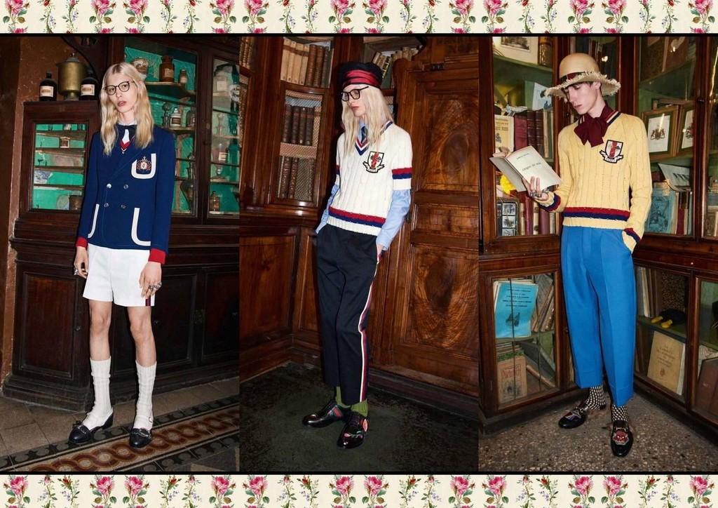 Gucci y sus uniformes de 'niños bien'