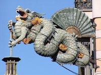 Los dragones de Barcelona