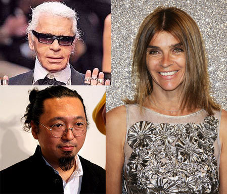 Karl Lagerfeld, Carine Roitfeld y Takashi Murakami, los más influyentes del 2008