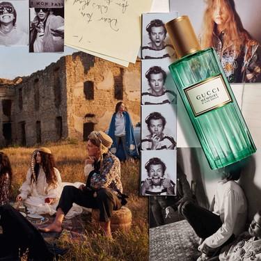 Gucci lanza un nuevo perfume sin género con Harry Styles como imagen de la campaña