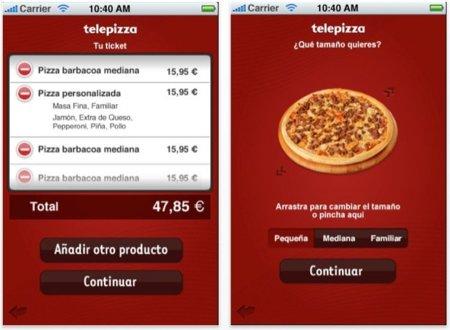 Telepizza lanza su aplicación para la App Store