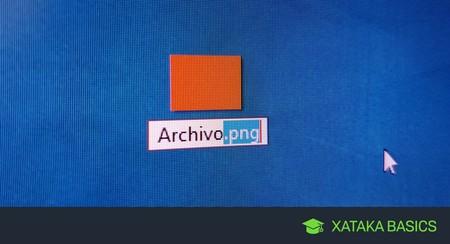 Cómo cambiar la extensión de un archivo en Windows