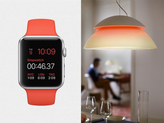El Apple Watch también servirá para controlar la iluminación de tu hogar
