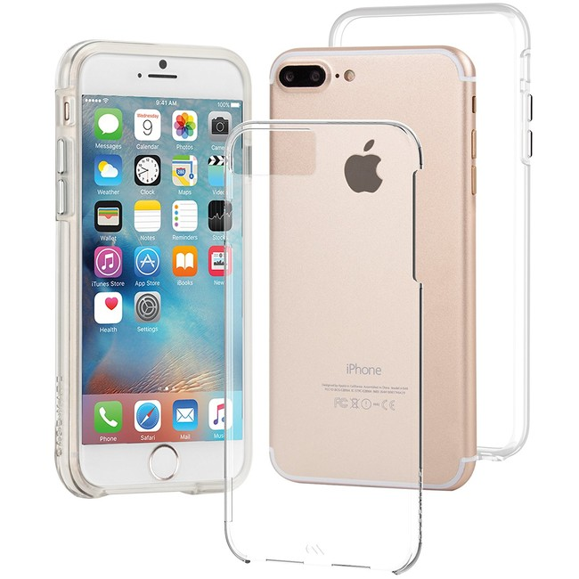Funda Case-Mate Naked Tough para iPhone 7 Plus y 6/6s Plus a