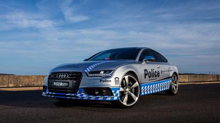 La policía australiana estrena un Audi S7 Sportback
