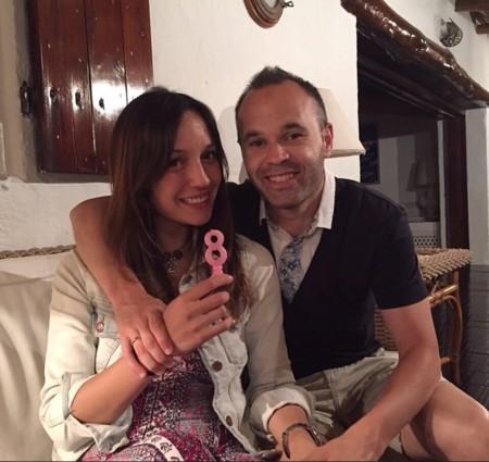 Andres Iniesta Y Anna Ortiz