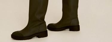 17 botines y botas de la nueva colección de Mango que van a despertar tu deseo más profundo
