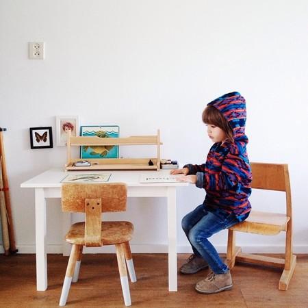 Cómo organizar un rincón de manualidades para los niños y cuidar que los muebles no se estropeen