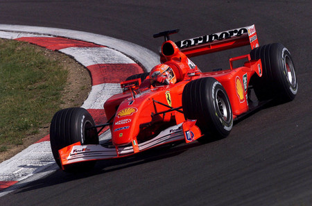 El Ferrari F2001 de Schumacher será subastado como pieza de arte