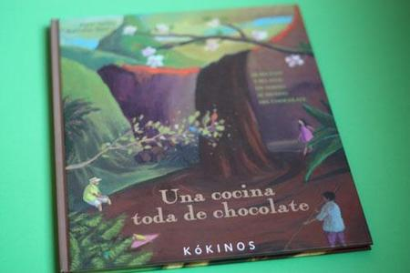 Una cocina toda de chocolate