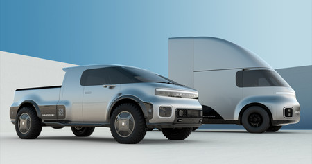 Neuron EV es el nuevo aspirante a dar guerra a Tesla y promete una pick-up y un camión eléctricos con paneles solares