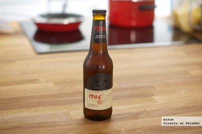 Estrella Galicia 1906 reserva especial. Cata de cerveza