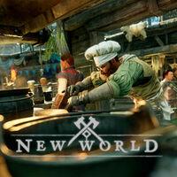 Método para subir de nivel rápido en New World: la cocina como solución