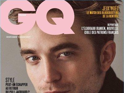 ¡Este chico no para! Robert Pattinson en la portada de GQ Francia