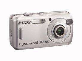 Cyber-shot DSC-S600, con 1000 ISO