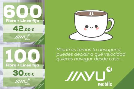 Jiayu Mobile estrena servicio de fibra simétrica desde 30 euros