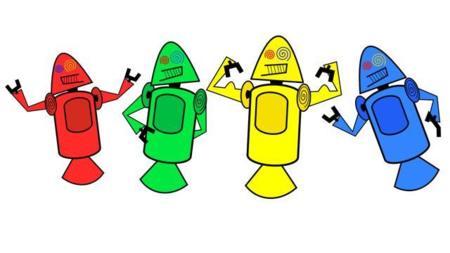 Las coloridas (y poco agraciadas) primeras mascotas de Android, la imagen de la semana