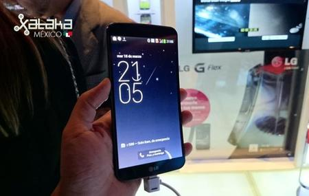 LG G Flex, toma de contacto