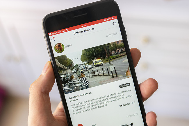 """""""Si es noticia, vale dinero"""": hablamos con los creadores de Apparazzis, la app que te paga por subir noticias desde el móvil"""