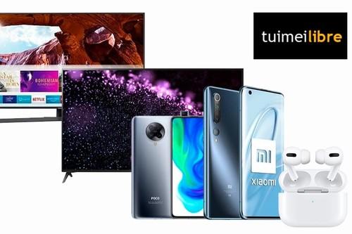 Superofertas en smartphones Xiaomi, auriculares Apple y smart TVs LG en tuimeilibre