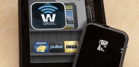 Kingston Wi-Drive ahora también para Kindle Fire