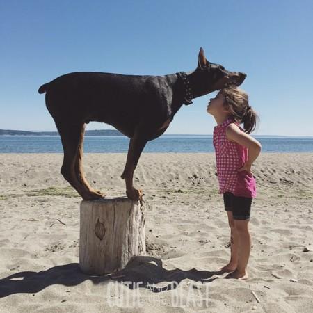 Cutie And The Beast Dog Girl Seana Doberman 43