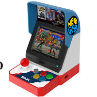 Este es el Neo Geo Mini: The King of Fighters,  Metal Slug y otros 38 juegos en una mini arcade con salida HDMI