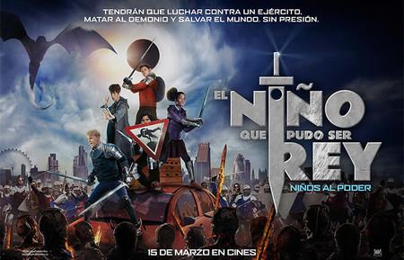 """""""El niño que pudo ser rey"""", la película de un rey Arturo de hoy en día que con 12 años combate el acoso escolar"""