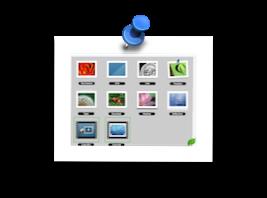 Photo Drop, un widget para añadir efectos a imágenes