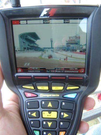 Prueba: Kangaroo TV en el GP de España