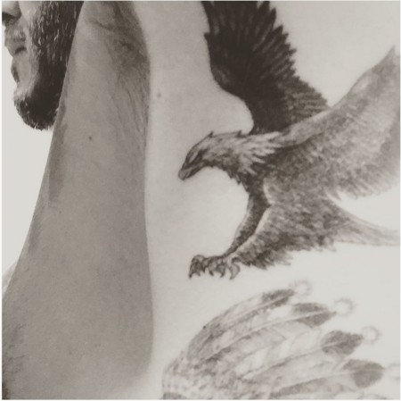 Sí, David Beckham encontró hueco para otro tatuaje más