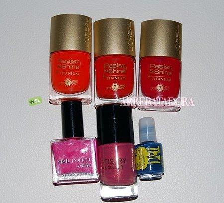 Esmaltes de uñas para el verano: ¿cuántos tienes?