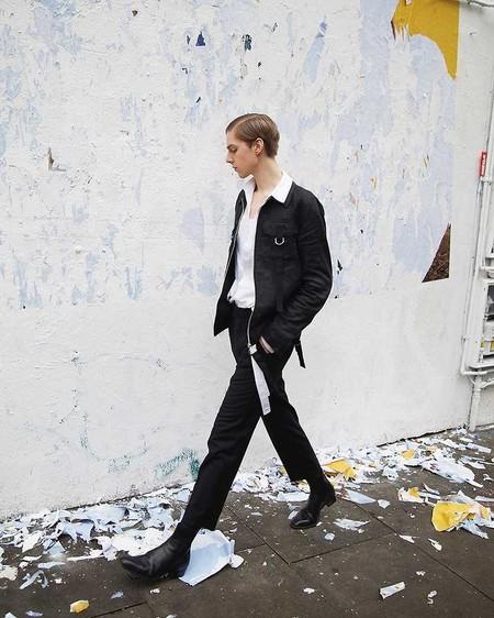 El Mejor Street Style De La Semana El Efecto Domino Se Apodera De Las Calles Viva El Blanco Y Negro 2