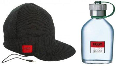 Hugo Man por la gorra