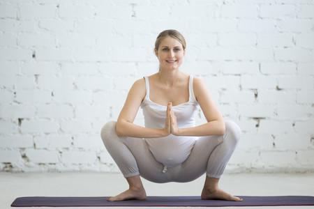 Yoga Embarazo Malasana
