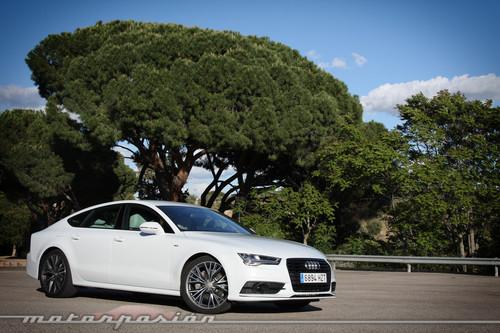 Probamos el Audi A7 3.0 TDI Ultra: ha sido económico pero algo incómodo