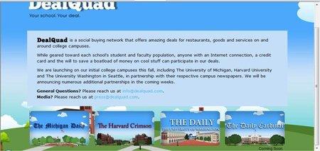 DealQuad: descuentos para universitarios