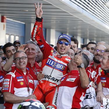 Ducati no impedirá que Jorge Lorenzo pruebe la Honda RC213V en los primeros IRTA de la pretemporada 2019
