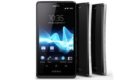 Sony presenta al Xperia T, Xperia V y Xperia J